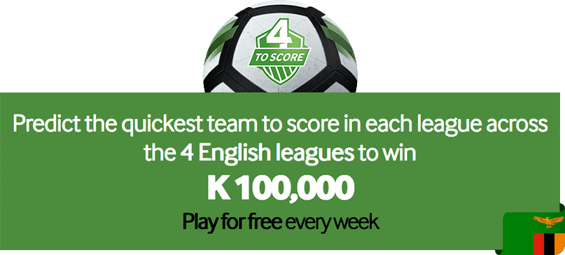 Betway 4 to score prize