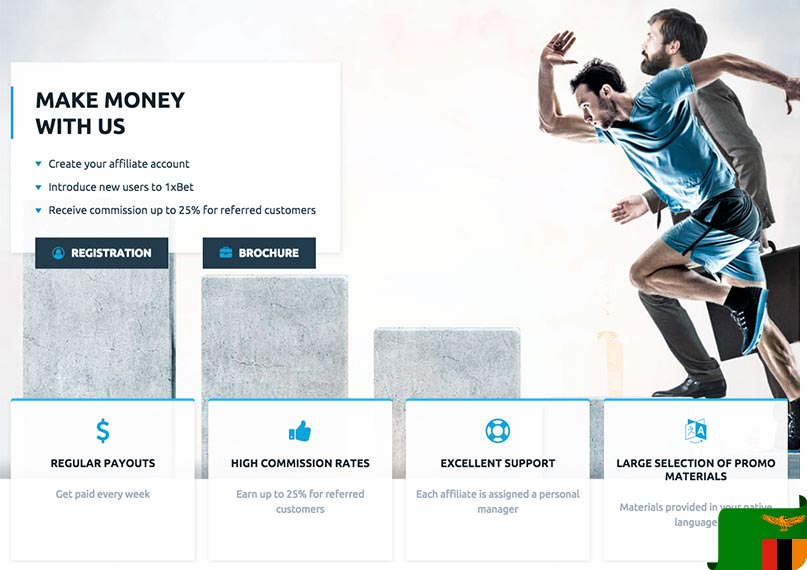 1xBet Affiliate - Referral Commisson Conditions
