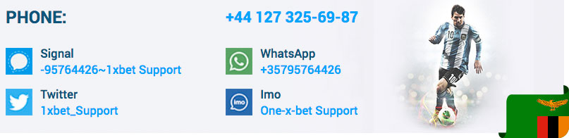 Customer support service 1xBet - Live chat, E-mail, Telephone