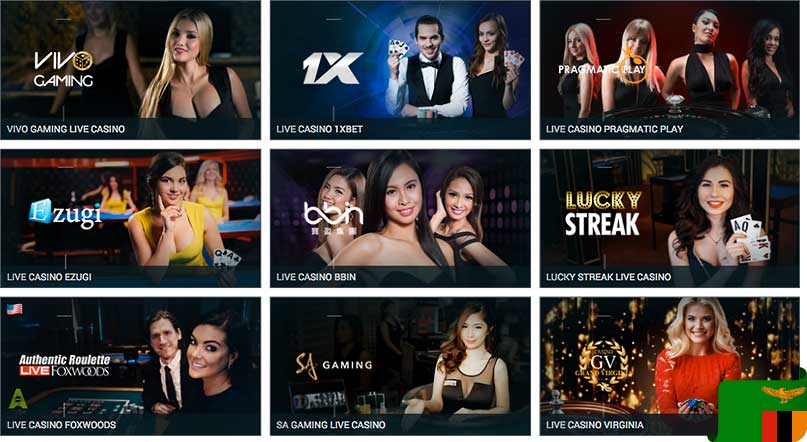 1xbet live casino games