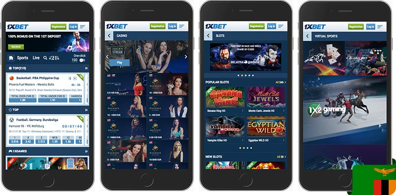 1xbet mobile look