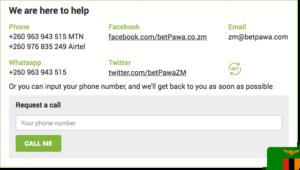 betPawa contacts