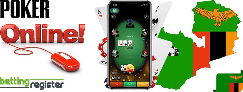 Online poker in Zambia