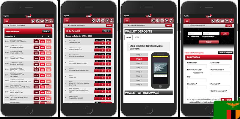 M-bet mobile app