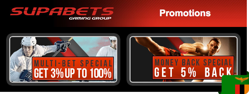 Supabets bonuses and promotions