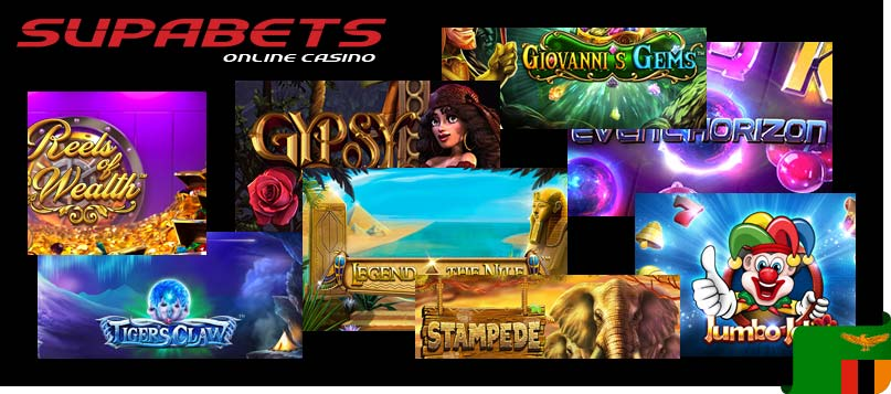 Supabets Zamibia casino games