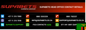 Supabets Zambia contacts