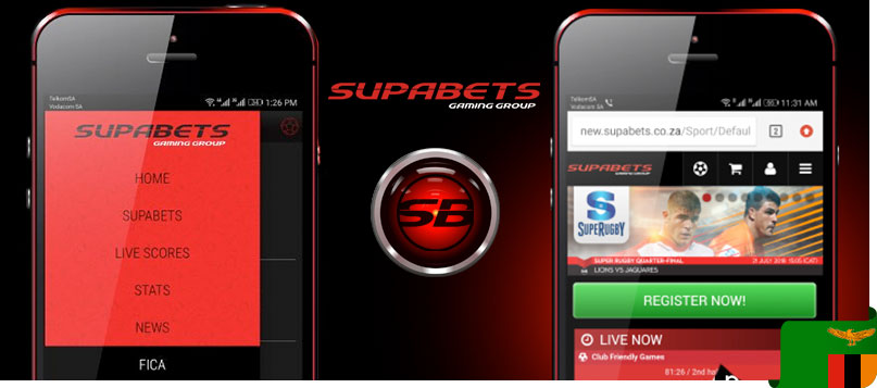 Supabets mobile site
