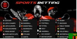 Supabets Zambia sports betting