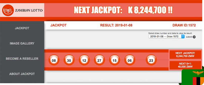 Zambian Lotto - Results for tonight and yesterday
