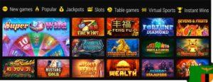 Power Betting Casino games