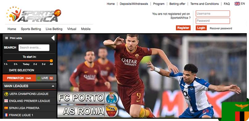 sports4africa site