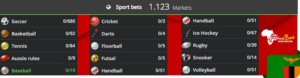 Africabet bets on sport events